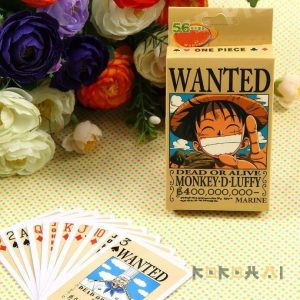 Baraja de cartas one piece Merchandising de One Piece