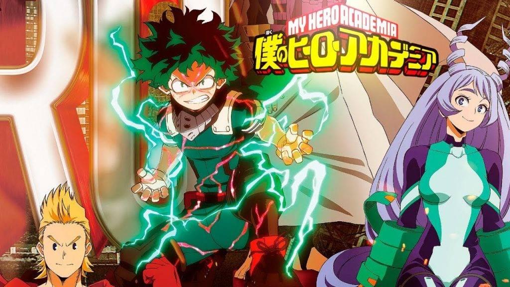 boku no hero 4º temporada