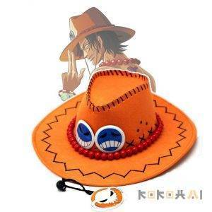 Sombrero de Portgas D Ace de One Piece Merchandising de One Piece Ropa