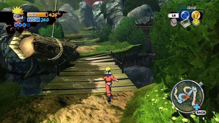 Naruto Rise Of A Ninja juego