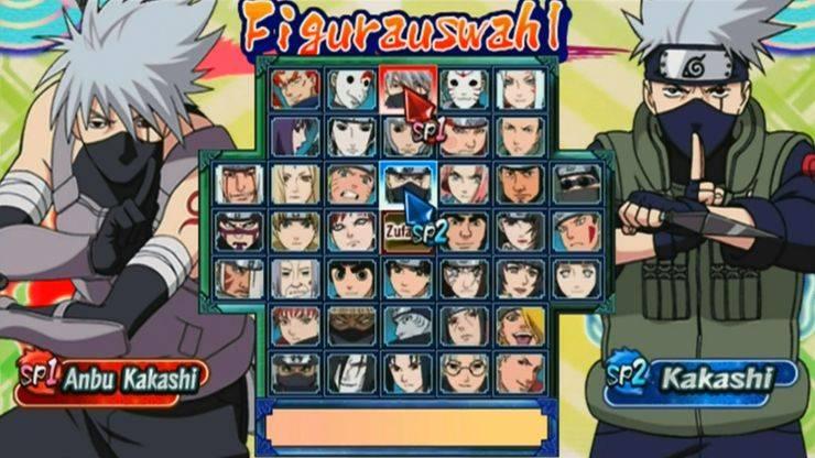 Naruto Shippuden Clash Of Ninja Revolution 3 wii kokohai