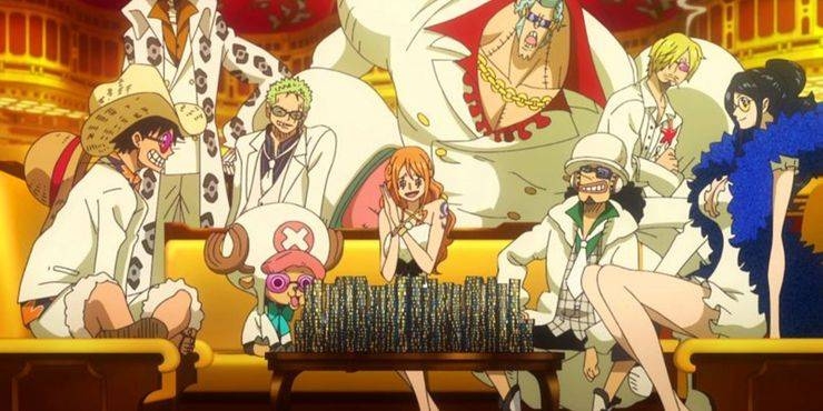 One Piece Gold pelicula hispano