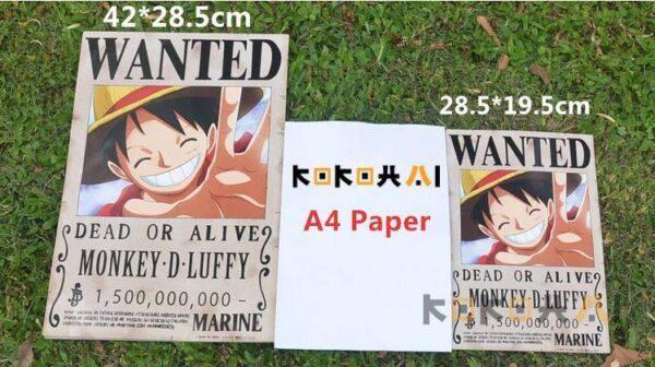 Recompensas todos los mugiwaras(Varios tamaños) Merchandising de One Piece