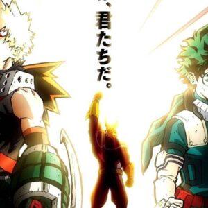 animes como boku no hero