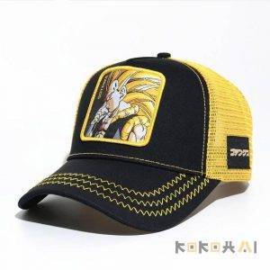 Gorras con varios diseños de Dragon Ball Ropa Merchandising de Dragon Ball