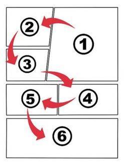 """Para entender el orden, debes conocer la """"regla de la T"""""""