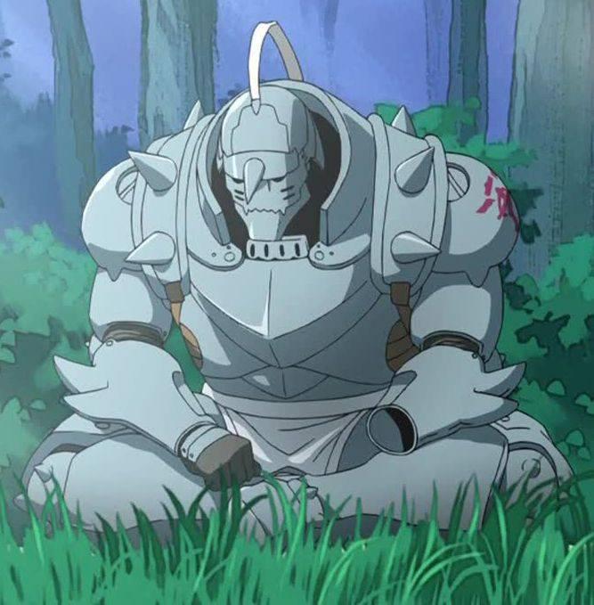 Alphonse Elric como es