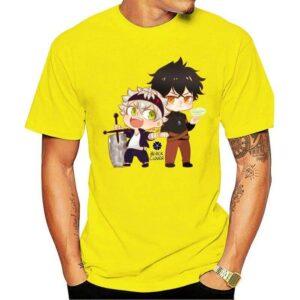 Camiseta Asta y Nobunaga (diferentes colores) Black Clover