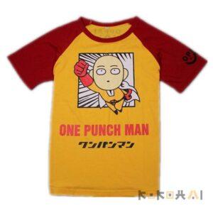 Camiseta One Punch Man Saitama para damas y caballeros One Punch Man
