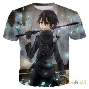 Camiseta Sword Art Online unisex Sword Art Online