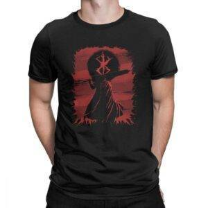 Camiseta de Guts para hombres en distintos colores Berserk Camisetas Camisetas de anime