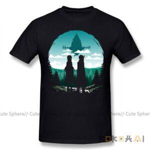 Camiseta de Sword Art Online para hombre Sword Art Online