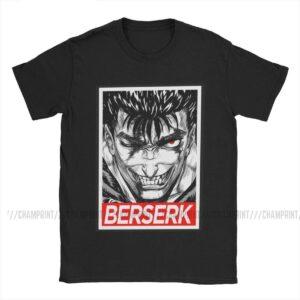 Camiseta de algodón Guts (diferentes colores) Berserk Camisetas Camisetas de anime