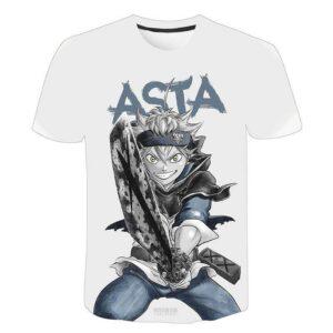 Camiseta temática de Black Clover para hombres y mujeres Black Clover