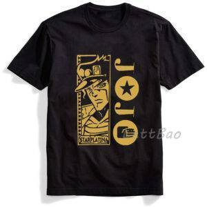 Camisetas negras con varios diseños de Jojo´s Bizarre Adventure JoJo's Bizarre Adventure