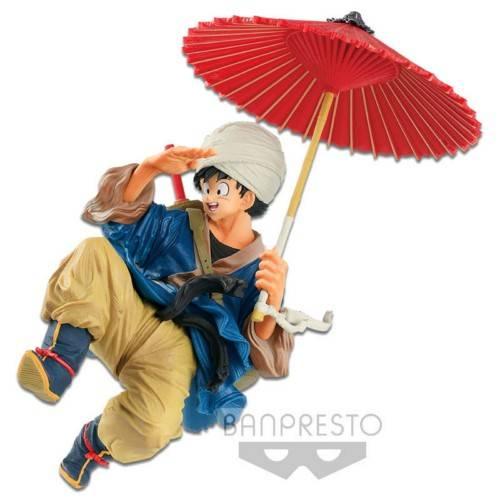 Figura Banpresto Goku Paragua Dragon Ball (18.cm) Figuras de Dragon Ball Merchandising de Dragon Ball Productos premium