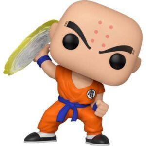 Figura Pop en vinilo Dragon Ball: Krilin (9.cm) Figuras de Dragon Ball Merchandising de Dragon Ball Productos premium