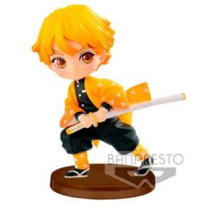 Figura de Zenitsu QPOSKET de Kimetsu no Yaiba Banpresto (7cm) Figuras de Kimetsu no Yaiba Kimetsu no Yaiba Productos premium