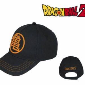Gorra Dragon Ball Kame Color Negro, Naranja y Logo Merchandising de Dragon Ball Productos premium