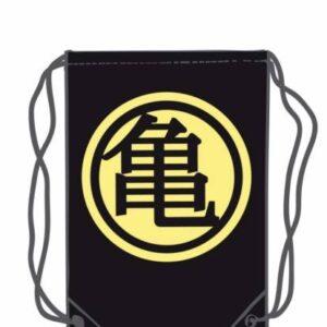 Saco Amarillo con Logo Dragon Ball Kame (45X35) Merchandising de Dragon Ball Productos premium