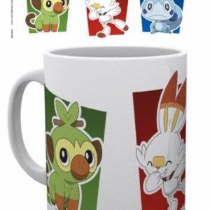 Taza con los Pokémon de Galar(300ml) Merchandising de Pokémon Productos premium