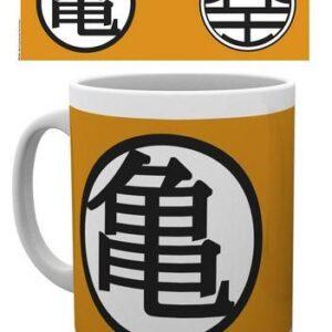 Taza de Dragon Ball Kame (9cm) Merchandising de Dragon Ball Productos premium