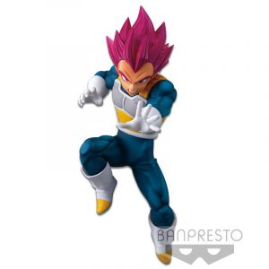 Figura Banpresto God Vegeta Dragon Ball SS (13.cm) Figuras de Dragon Ball Merchandising de Dragon Ball Productos premium