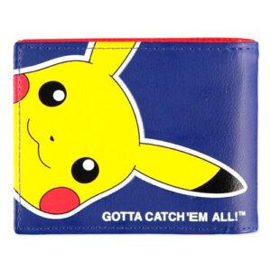 Cartera de Pikachu con Pokeball de Pokemon