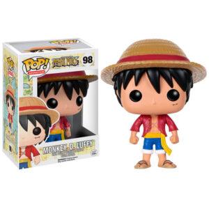 Figura Funko POP Monkey D. Luffy de One Piece