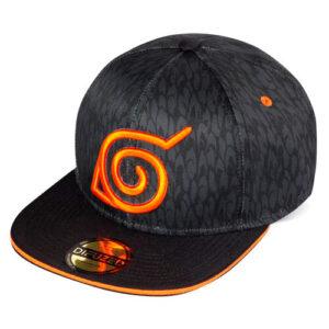 Gorra estampada de Naruto Shippuden