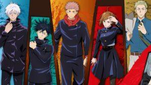 personajes de jujutsu kaisen